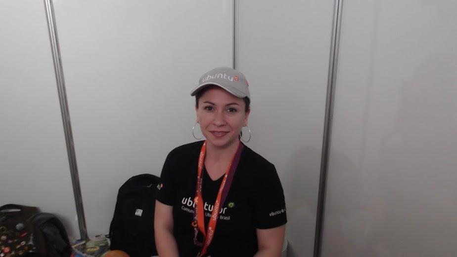 Marta Vuelma, a mais nova membro Ubuntu no Brasil