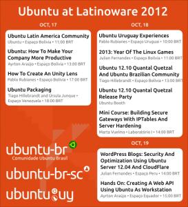 Ubuntu presence at Latinoware 2012