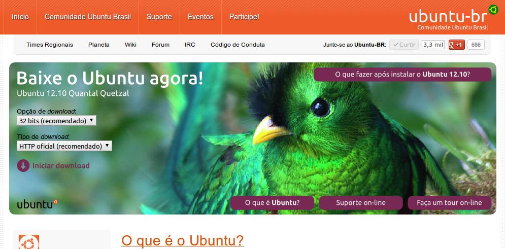 Comunidade Ubuntu Brasil em 2012