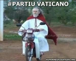 Inri partiu Vaticano
