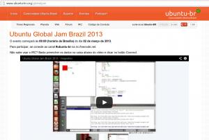 Ubuntu Global Jam Brazil 2013