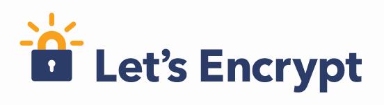 Logo da Let's Encrypt